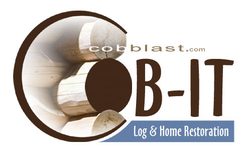 Cobit - cob blasting - Log & Home restoration for Seeley Lake Mt. and western Montana